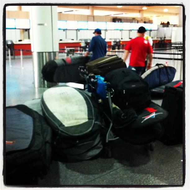 Travelling light! pic - Julia Toms Photography