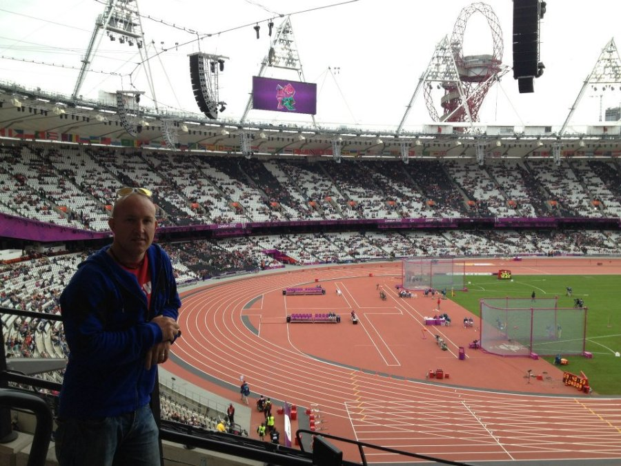 Tez In The Olympic Stadium
