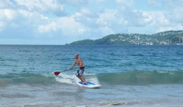 Grand Anse Bay surfing