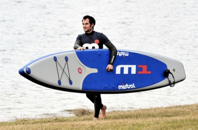 Mistral M1 14ft iSUP race board