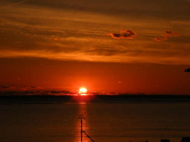 Hayling Island sunset