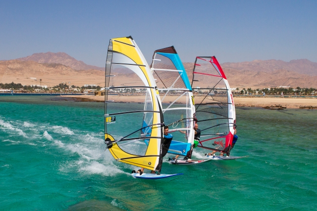 Kit testing in Egypt for Windsurf Mag