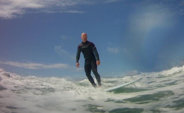 Still surfing