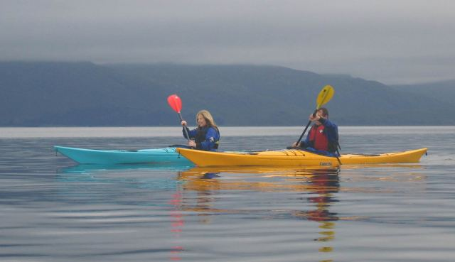 Sea kayaking  Lin of Lorn w