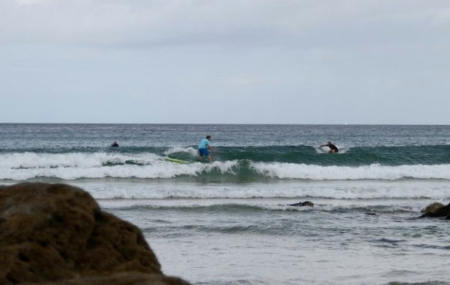 Thorpy at Fistral