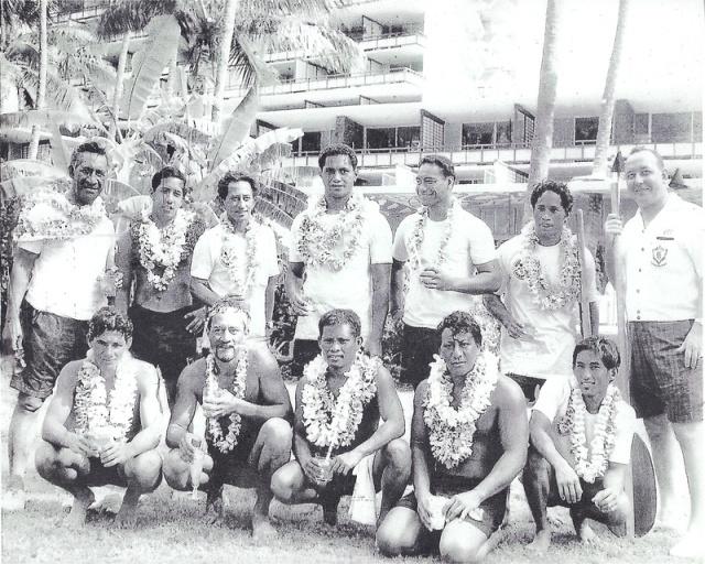 Molokai - Oahu canoe team
