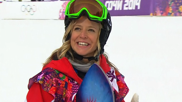 Jenny Jones snowboarder