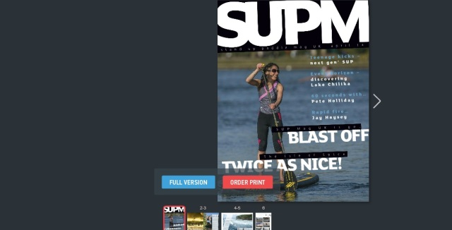 SUP Mag UK issue 1