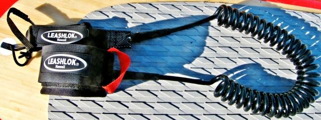 Leashlok coiled leash