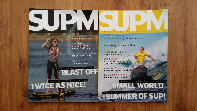 SUP Mag UK - April and July issues