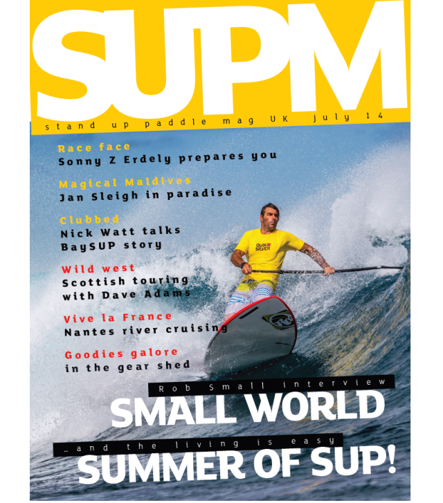 SUP Mag UK issue two cover