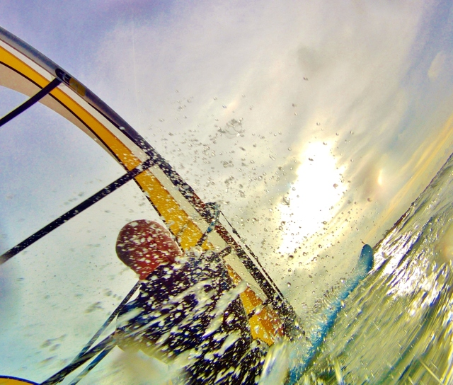Hayling Island windsurfing Tez Plavenieks