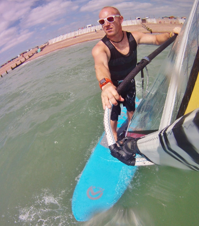 Heli tack hero on AHD's Sealion Summerboard