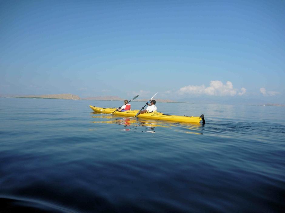 Indonesia kayaking