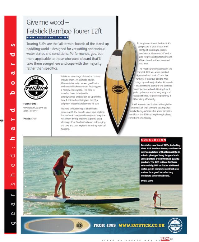 Fatstick12ft Bamboo Tourer review