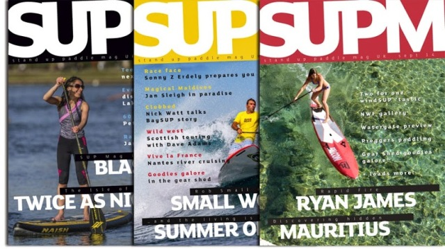 SUP Mag UK issue collage