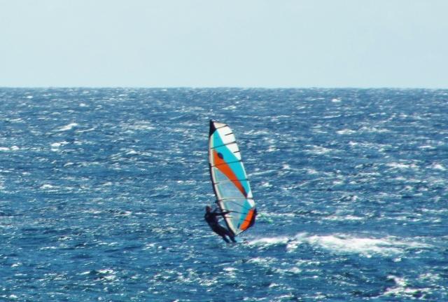 Tez Plavenieks Goy Windsurfing Nexus Carrera testing