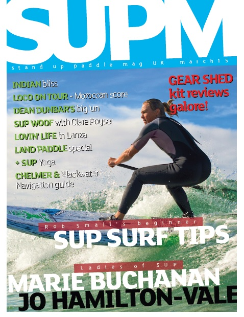 Stand UP Paddle Board Mag UK March 2015 Cover