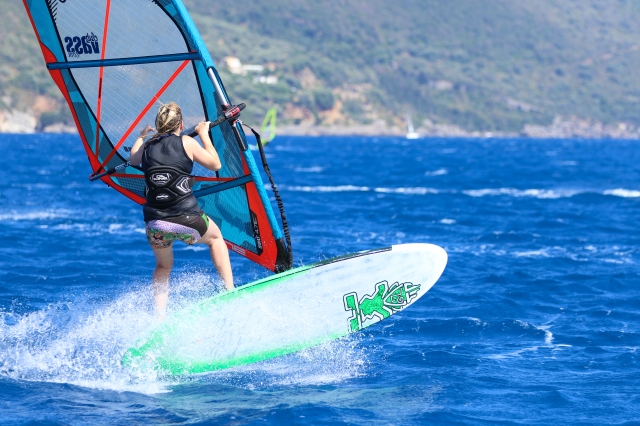 Fi Plavenieks Starboard Flare 91 2015 Vassiliki Club Vass